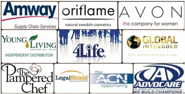 Список известных МЛМ компаний