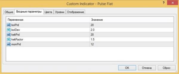 Индикатор pulse flat 1